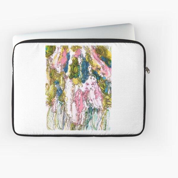Bird Cherry Blossom Laptop Sleeve