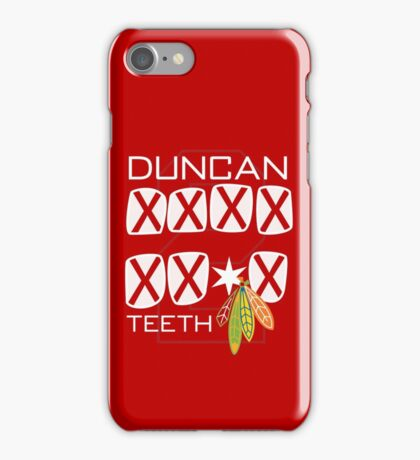 Duncan Teeth_X iPhone Case/Skin