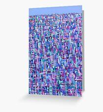 Urban Matrix Greeting Card