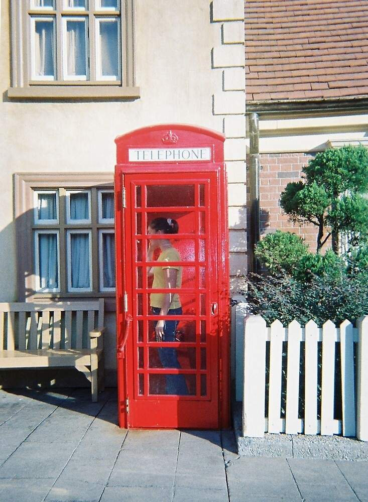 Red Phone Booth by TCbyT
