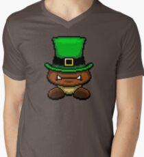 IRISH GOOMBA Mens V-Neck T-Shirt