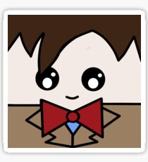 Dr Who 11th Doctor Squ'ed Sticker