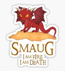 Smaug The Dragon Sticker