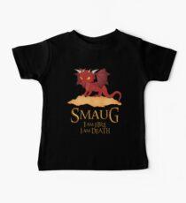 Smaug The Dragon Baby Tee