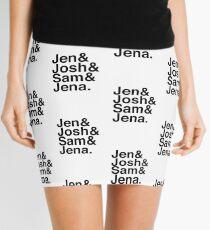 Jennifer & Josh & Sam & Jena. Mini Skirt