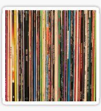 Classic Alternative Rock Records Sticker