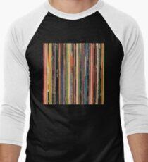 Classic Alternative Rock Records Men's Baseball ¾ T-Shirt