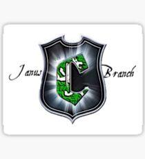 Janus Branch  Sticker