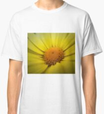 Macro Sunflower Classic T-Shirt