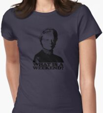 Downton Abbey What Is A Weekend Tshirt Womens Fitted T-Shirt