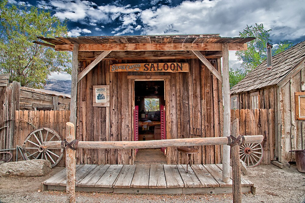 Silver Canyon Saloon by Cat Connor