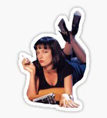 Pegatina Pulp Fiction Mia Wallace