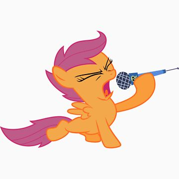 Scootaloo Singing by IvanSpaceBiker