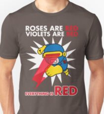 Roses Are Red, Violets Are Red Unisex T-Shirt