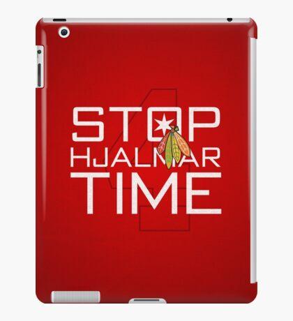 Stop, Hjalmar Time iPad Case/Skin