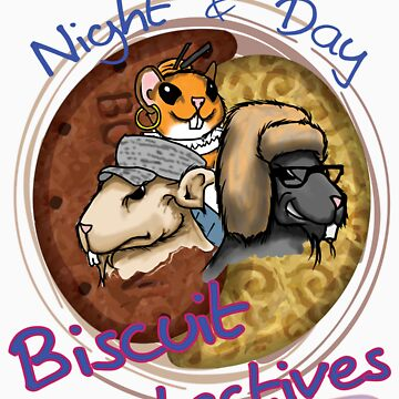 Night & Day, Biscuit Detectives! by Sozdanee