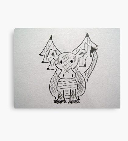 Little Dragon Metal Print