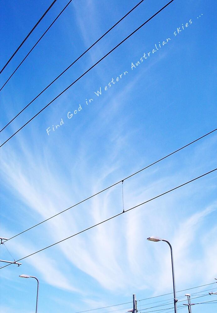 God's Sky - Claremont by Robert Phillips