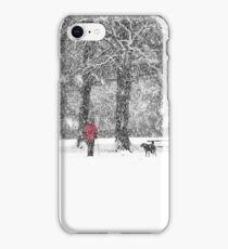A Dash of Red iPhone Case/Skin