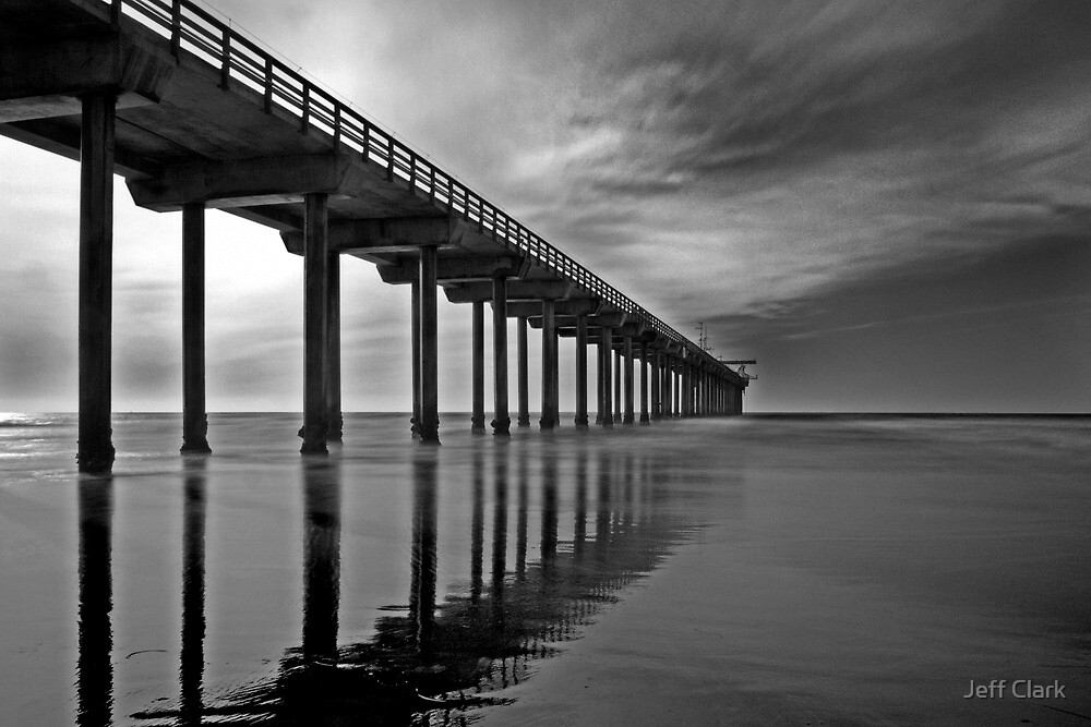 Scripps Pier 1 by Jeff Clark