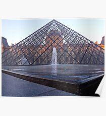 Musee du Louvre, Paris Poster