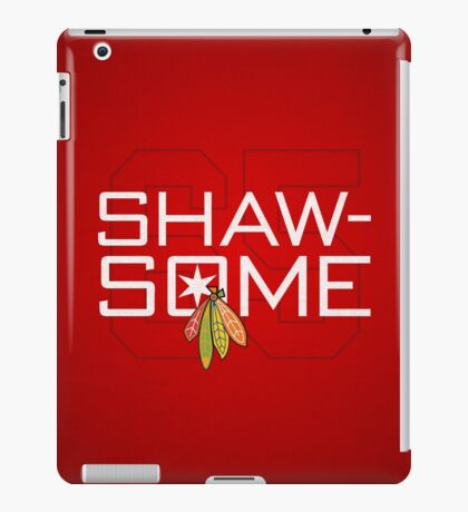 Shaw-Some iPad Case/Skin