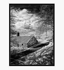 Mountain Farmstead Photographic Print
