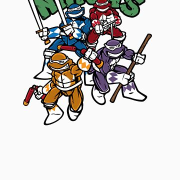 Mighty Mutant Power Ninjas! by nikholmes