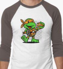 Vintage Michelangelo Men's Baseball ¾ T-Shirt