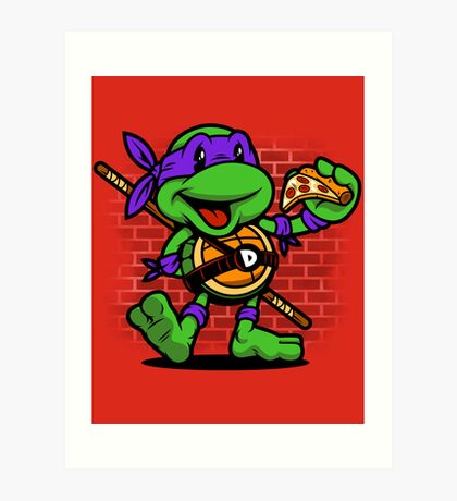 Vintage Donatello Art Print