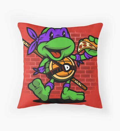 Vintage Donatello Throw Pillow