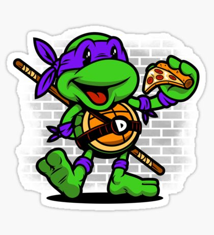 Vintage Donatello Sticker