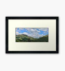 Little Langdale Valley Cumbria Framed Print