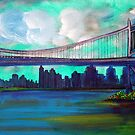 Triborough Bridge by Laura Barbosa