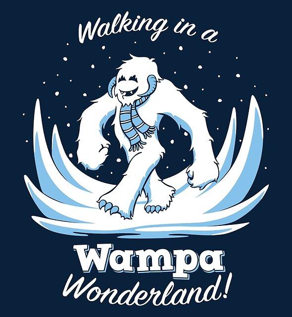 Snow Creature Wonderland by DoodleDojo