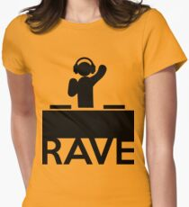 Rave Women's Fitted T-Shirt