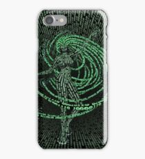 Guardian of the Data Stream iPhone Case/Skin