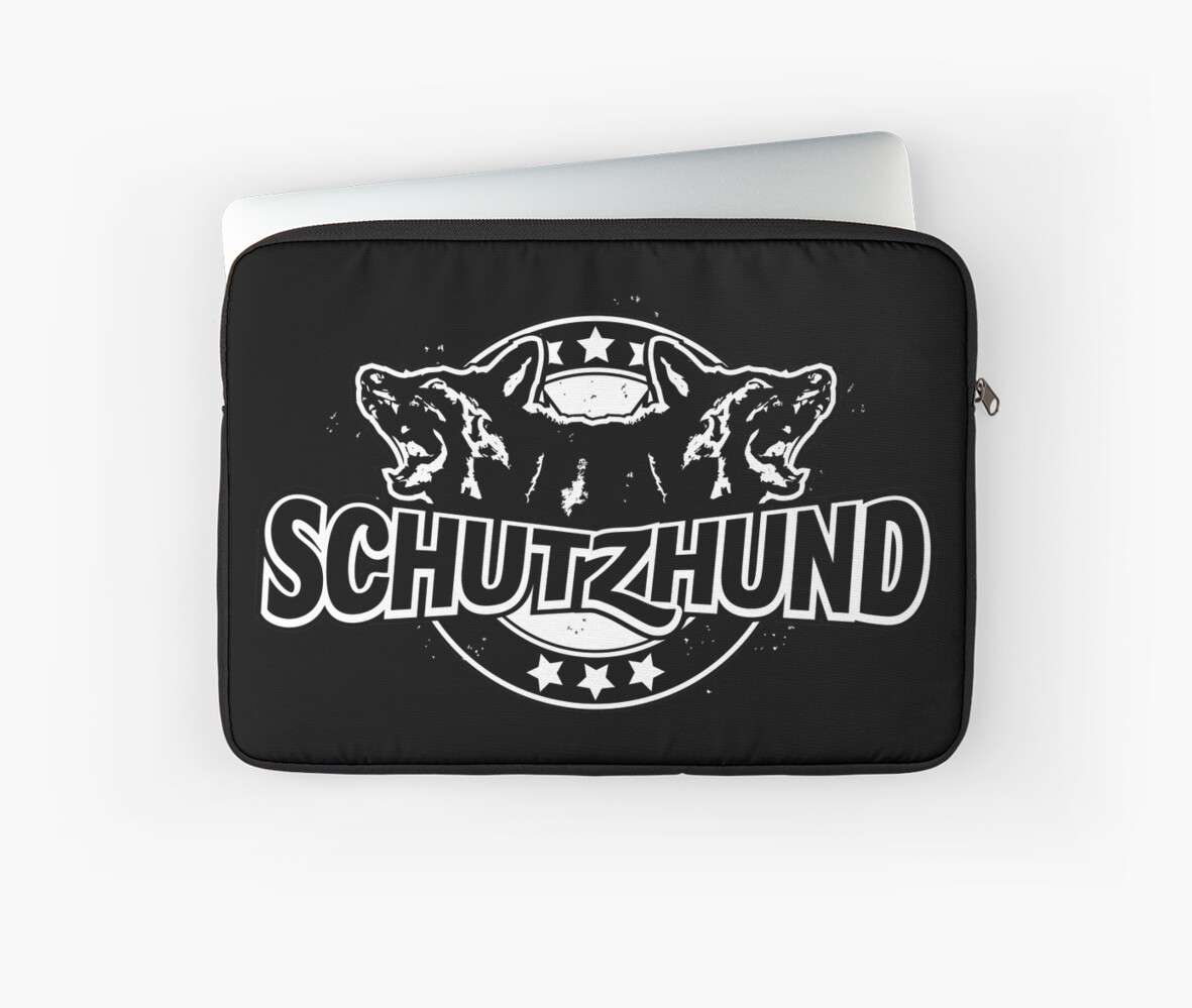 Baseball style Schutzhund for black or coloured background by Abbysinthe