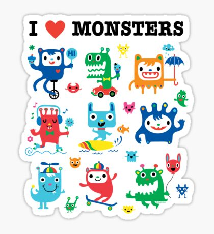 Monster Love Sticker