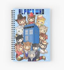 Alpaca Who Spiral Notebook