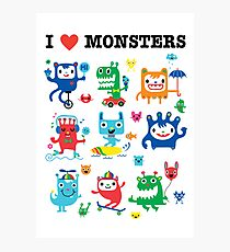 Monster Love Photographic Print