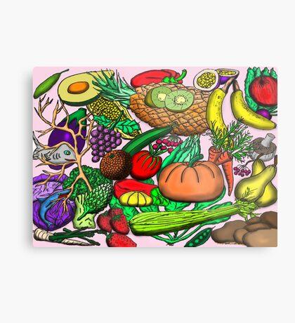Food Glorious Food Metal Print