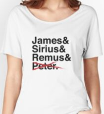 James & Sirius & Remus & X. Women's Relaxed Fit T-Shirt