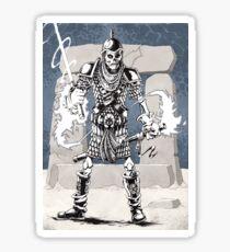 Dekkion, Dungeons & Dragons cartoon Sticker