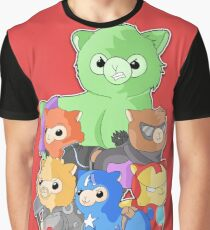 Alpacas Assemble Graphic T-Shirt