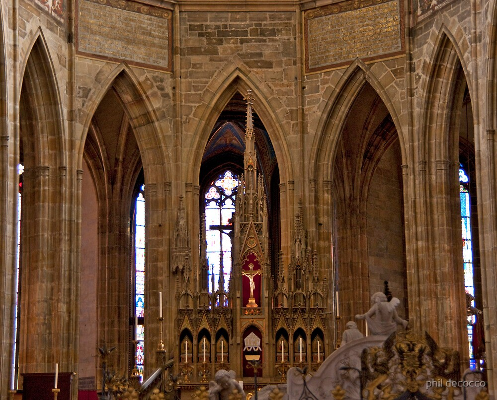 Main Altar by phil decocco