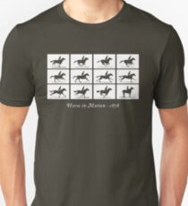 Horse in Motion (White) T-Shirt
