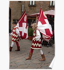 Tuscan Heraldry Poster