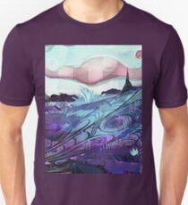Splitworld concept background T-Shirt