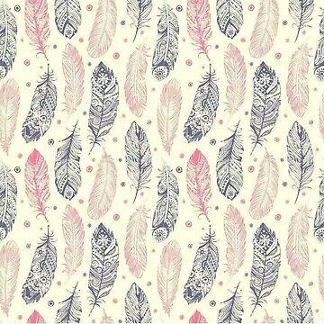 Fancy Feathers by keroquesilva
